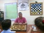 Miguel en escuela Estepona