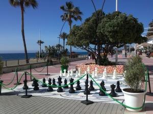 mural ajedrez Estepona