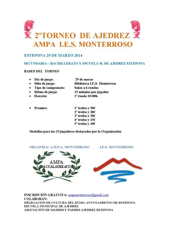 2º TORNEO AJEDREZ AMPA MONTERROSO 2014-001