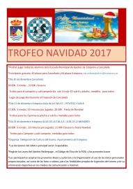 BASES TROFEO NAVIDAD 2017